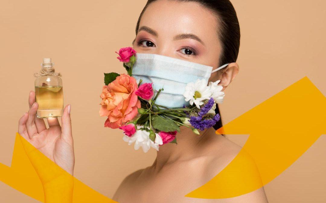 Estrategias de redes sociales para perfumerías durante el coronavirus